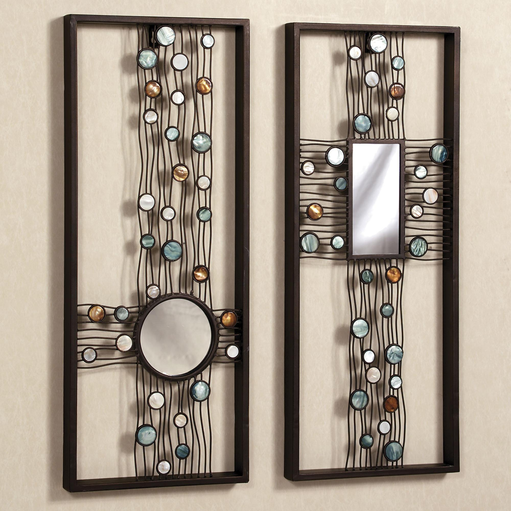Framed Wall Art Sets Of 3 20 Ideas Of Mirrored Frame Wall Art Wall Art Ideas