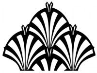 20 Ideas of Art Deco Wall Decals   Wall Art Ideas