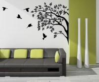 2018 Latest Painted Trees Wall Art | Wall Art Ideas