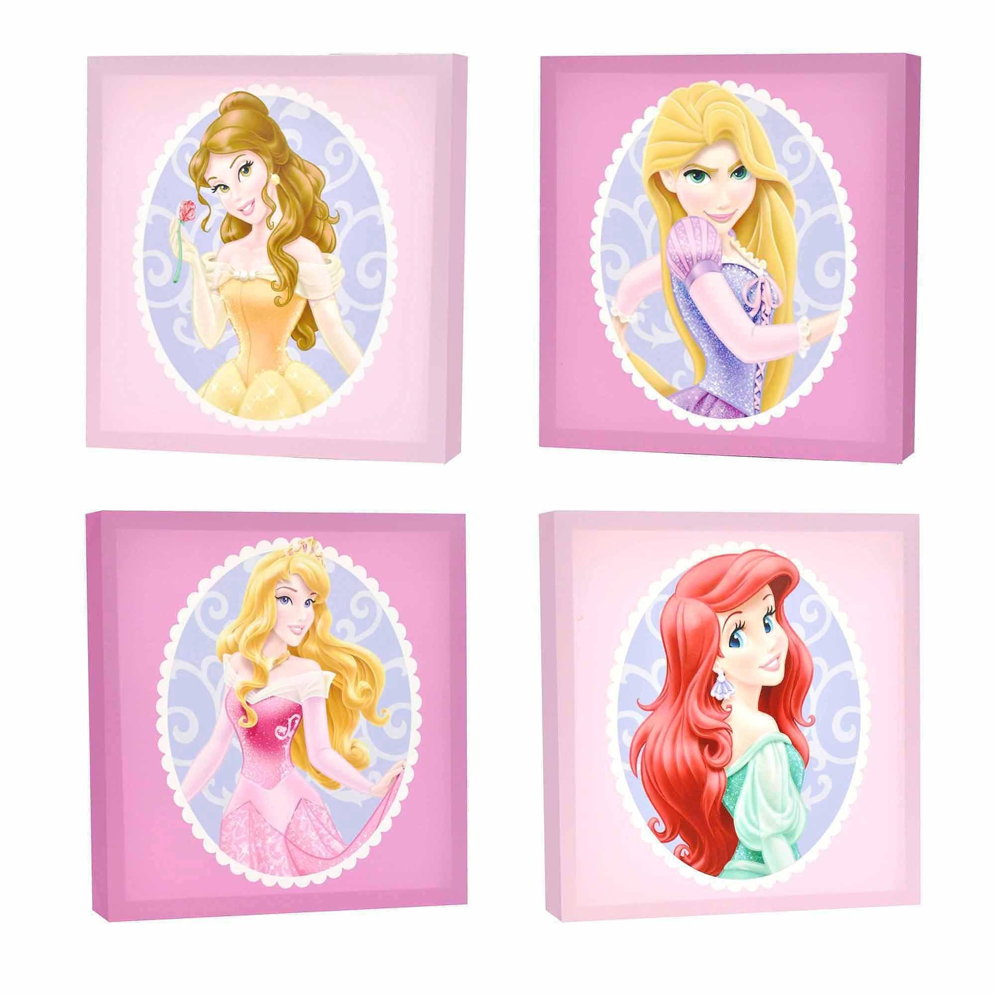 20 Inspirations Princess Canvas Wall Art