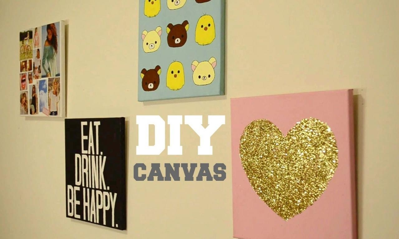 Tumblr Room Wall Decor 20 Ideas Of Homemade Wall Art Wall Art Ideas