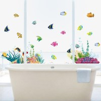 20 Best Collection of Fish Decals for Bathroom | Wall Art ...