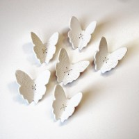 20 Best Collection of Ceramic Butterfly Wall Art | Wall ...