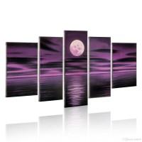 20 Ideas of Purple Abstract Wall Art