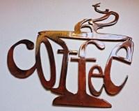 20 Best Ideas Metal Coffee Cup Wall Art   Wall Art Ideas