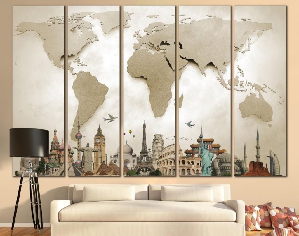 How To Decorate A Large Bedroom Wall 20 Photos Large Inexpensive Wall Art Wall Art Ideas