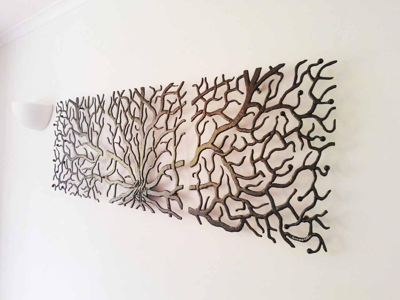 20 Photos Wrought Iron Tree Wall Art