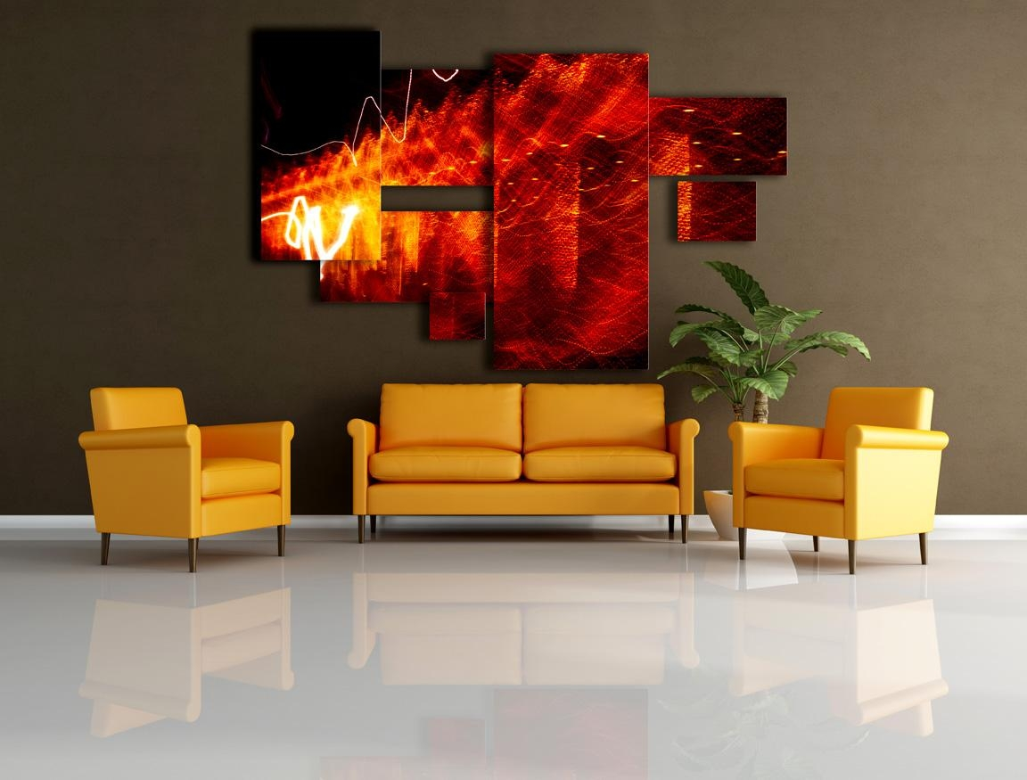 Red And Yellow Decor 20 Best Red And Yellow Wall Art Wall Art Ideas