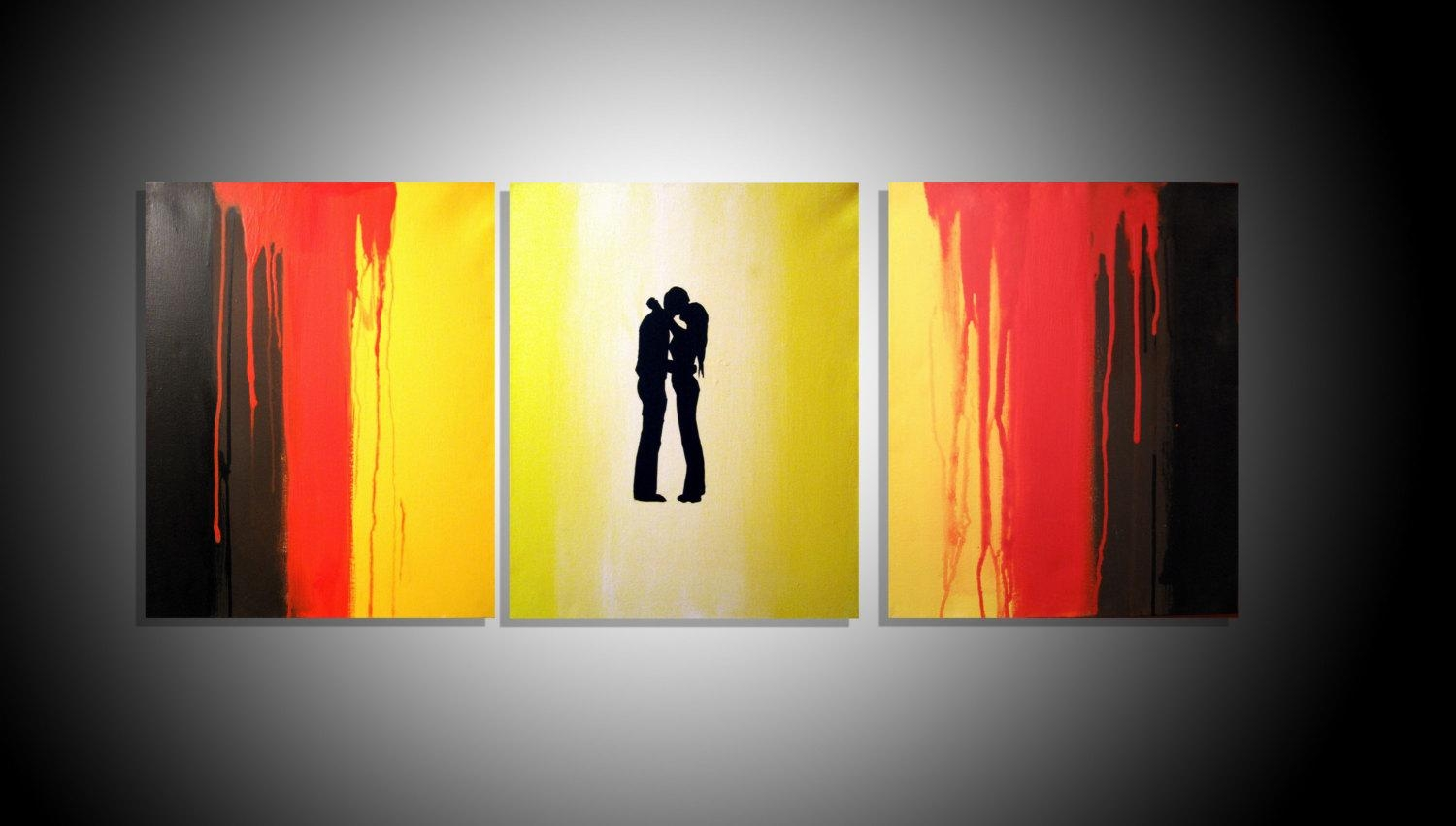 Enchanting Triptych Wall Art Illustration - Art & Wall Decor ...
