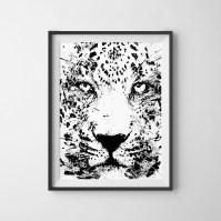 2018 Latest Leopard Print Wall Art | Wall Art Ideas