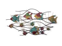 20 Inspirations Fish Shoal Metal Wall Art | Wall Art Ideas