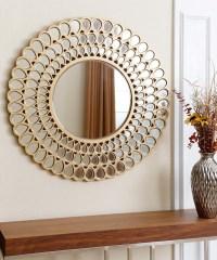 20 Ideas of Small Round Mirrors Wall Art | Wall Art Ideas