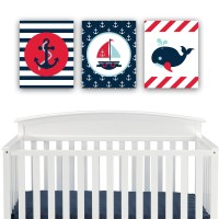 20 Best Collection of Nautical Canvas Wall Art   Wall Art ...