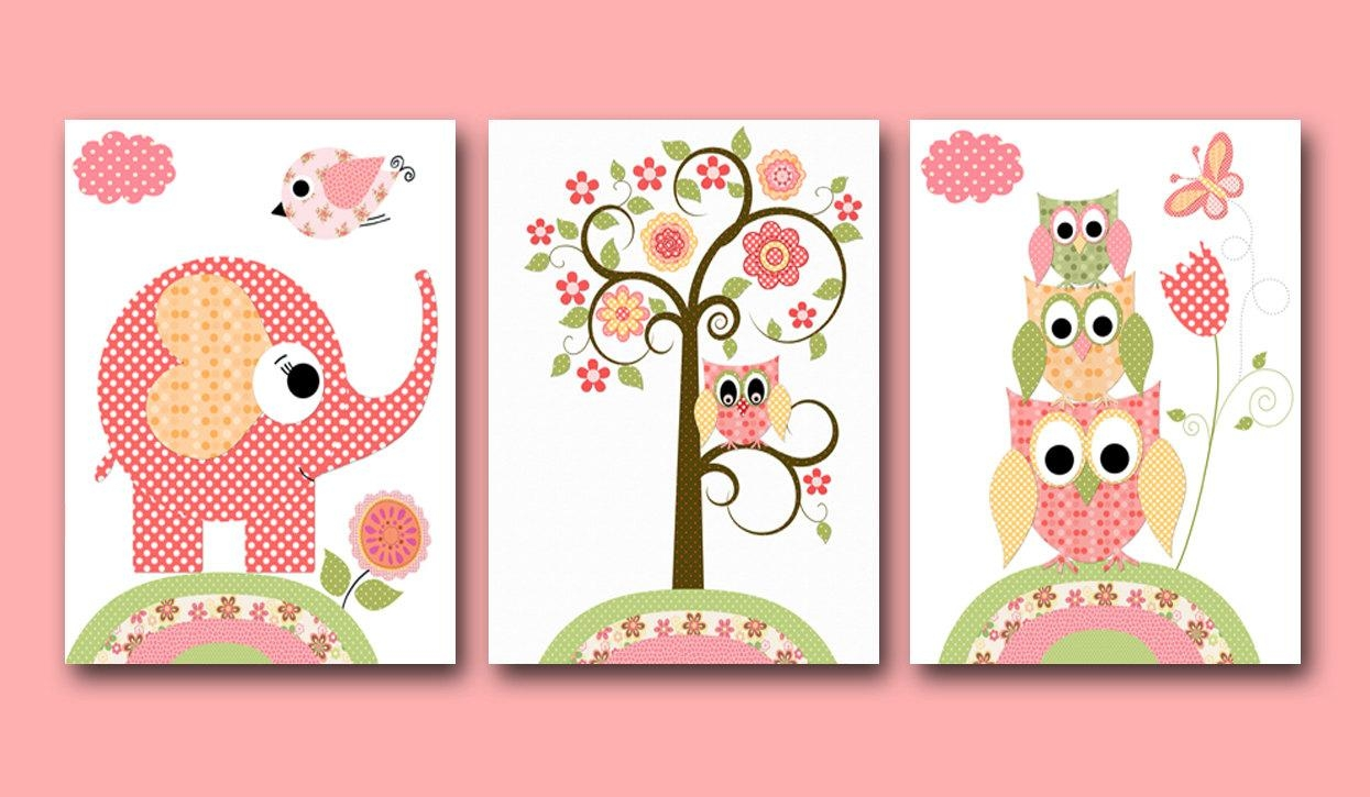 20 Collection of Children Wall Art