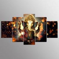 20 Inspirations Ganesh Wall Art | Wall Art Ideas