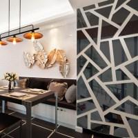 20+ Choices of Abstract Mirror Wall Art | Wall Art Ideas