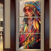 2018 Latest Native American Wall Art | Wall Art Ideas