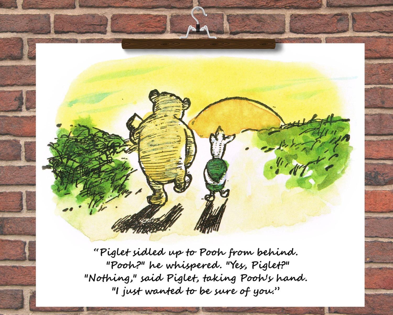Classic Winnie The Pooh Wall Art - Elitflat