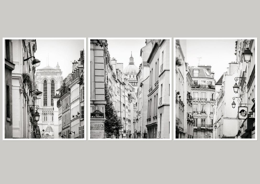 Large Black And White Posters 20 Best Collection Of Black And White Paris Wall Art