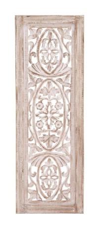 20 Photos Wood Carved Wall Art Panels | Wall Art Ideas