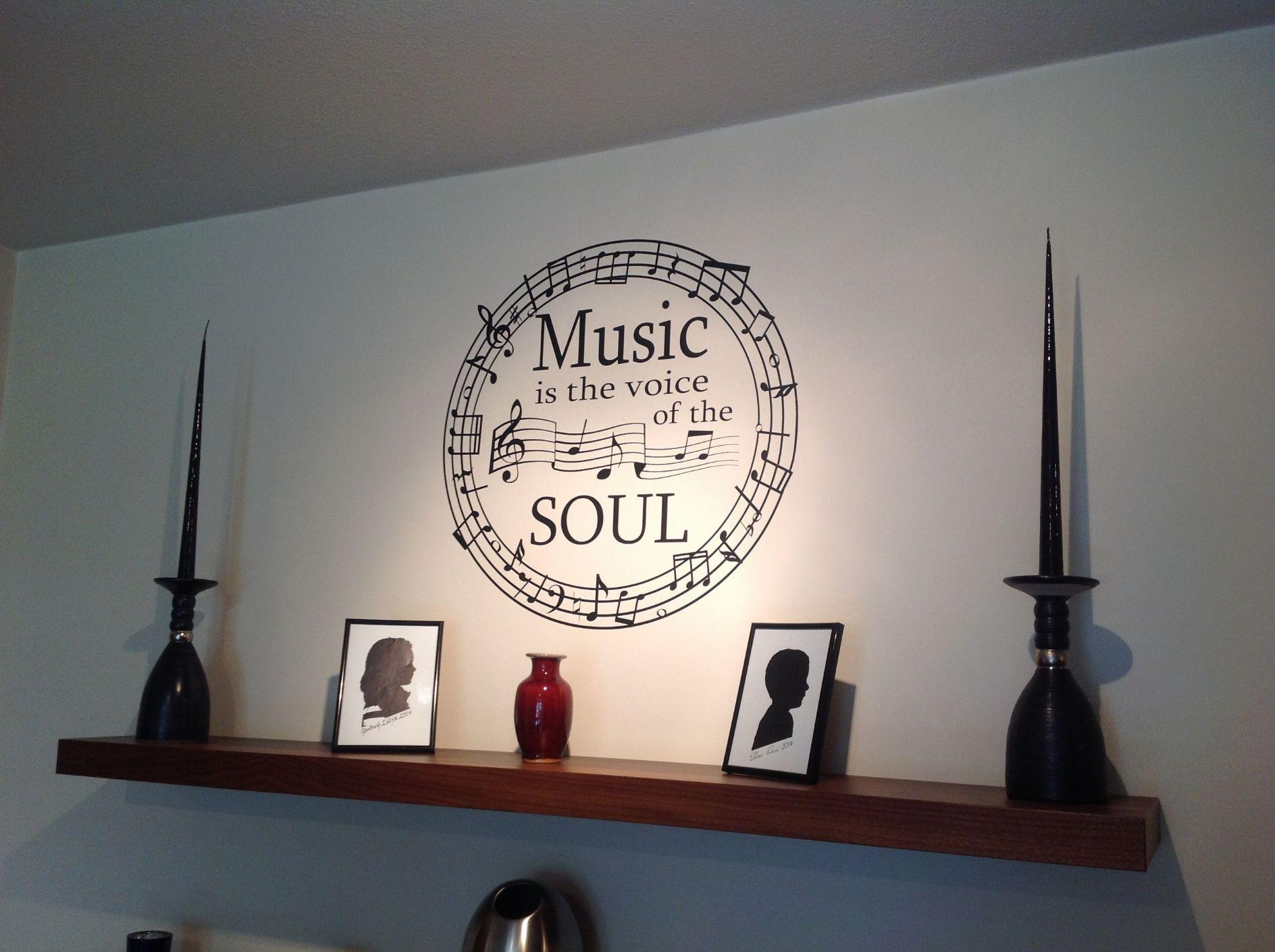 Music Notes Metal Wall Art 20 Best Metal Music Notes Wall Art Wall Art Ideas