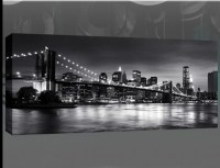 20 Top New York Skyline Canvas Black and White Wall Art ...