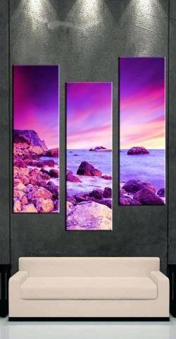 Splendent 3 Piece Canvas Artwork 3 Piece Canvas Art Wall Ideas Cheap Purple Canvas Wall Art Large Purple Canvas Art Intendedfor Piece Wall Art Piece Floral Canvas Wall Art