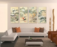 2018 Latest Large Framed Wall Art | Wall Art Ideas