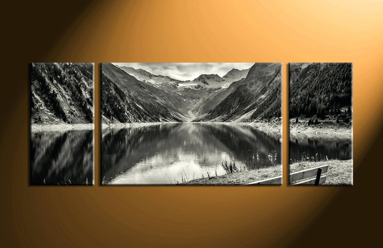 2018 Latest Black and White Wall Art Sets
