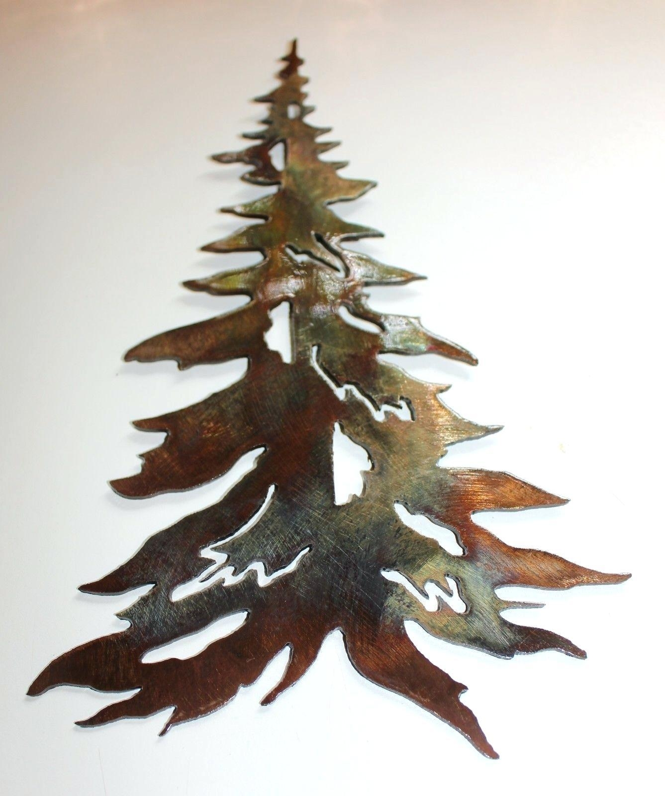 20 Best Pine Tree Metal Wall Art