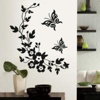 20 Best Collection of Butterflies Wall Art Stickers | Wall ...