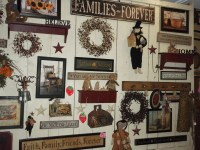 20 Collection of Primitive Wall Art | Wall Art Ideas