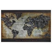 20 Best Framed World Map Wall Art | Wall Art Ideas