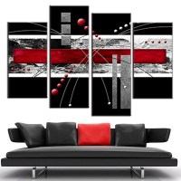 20 Photos Red and Black Canvas Wall Art | Wall Art Ideas