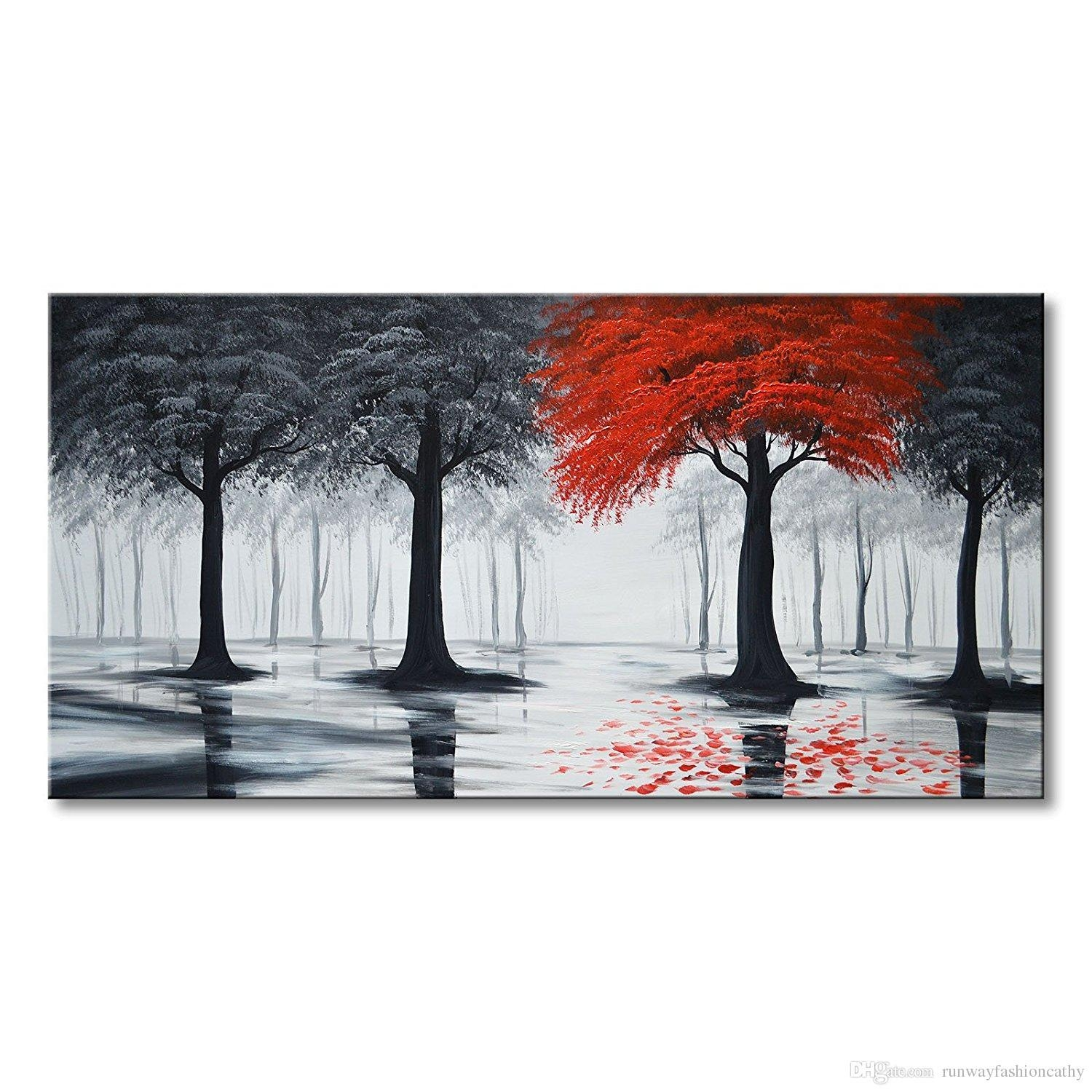 20 Photos Red and Black Canvas Wall Art