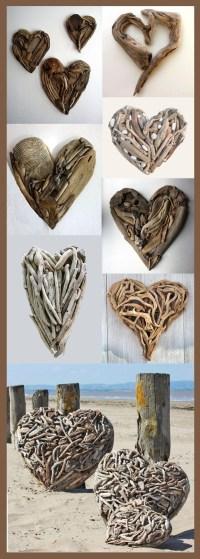 20 Top Driftwood Heart Wall Art | Wall Art Ideas