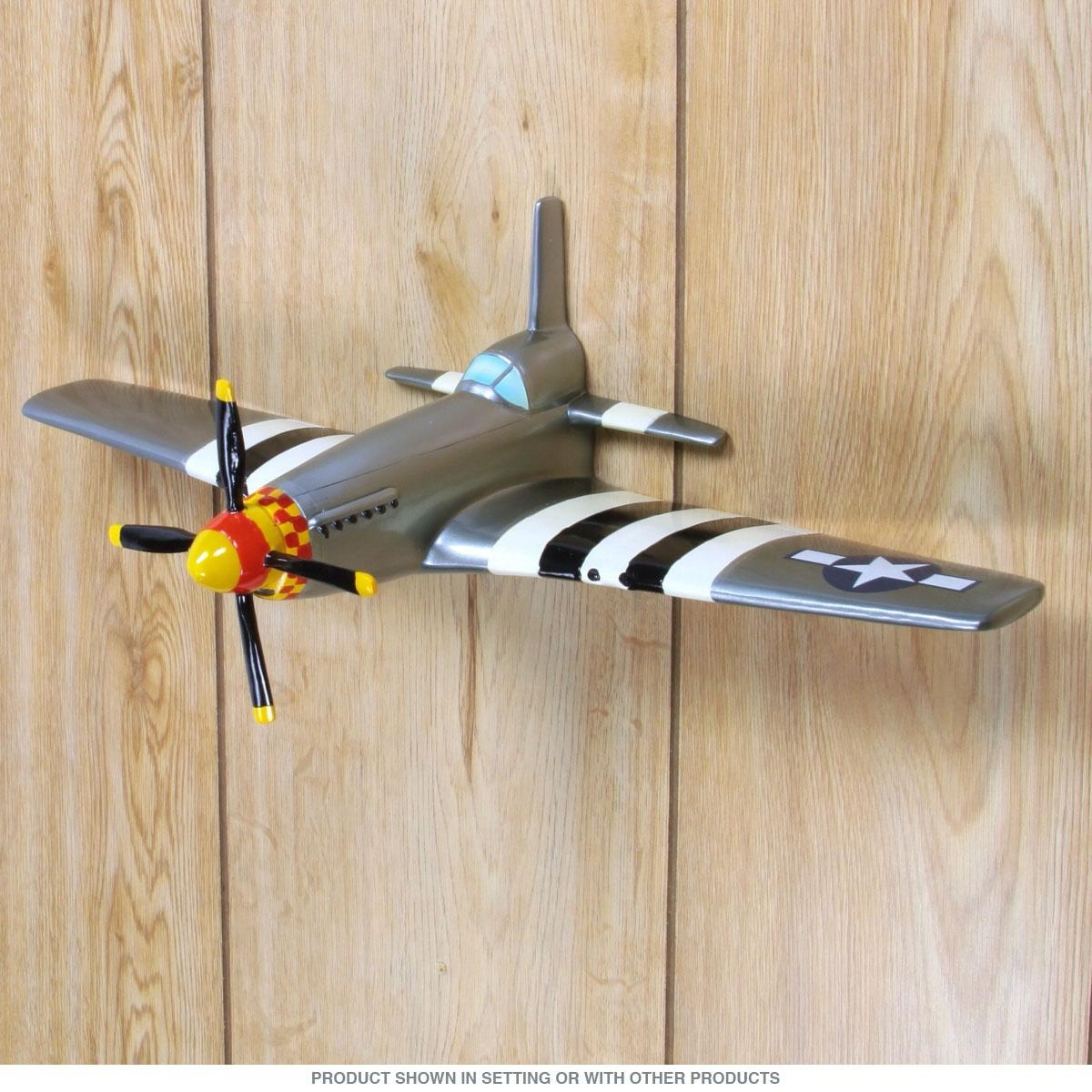 20 Collection of Metal Airplane Wall Art