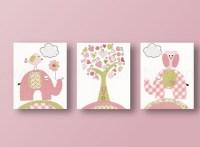 20 Inspirations Elephant Wall Art for Nursery   Wall Art Ideas