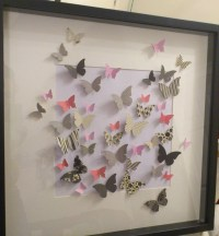 20 Best Collection of 3D Butterfly Framed Wall Art | Wall ...