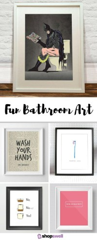 20 Collection of Art for Bathrooms Walls