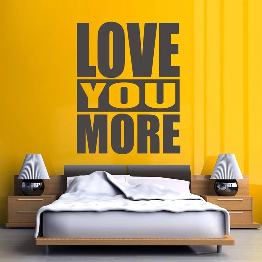 I Love You More Wall Art - Elitflat