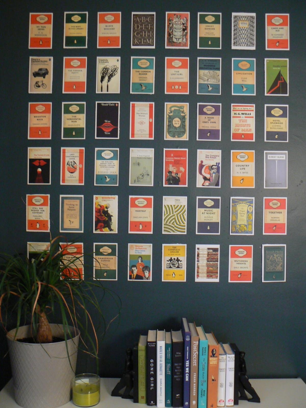 Books Decor 20 Collection Of Penguin Books Wall Art Wall Art Ideas