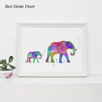 20 Inspirations Elephant Wall Art for Nursery | Wall Art Ideas