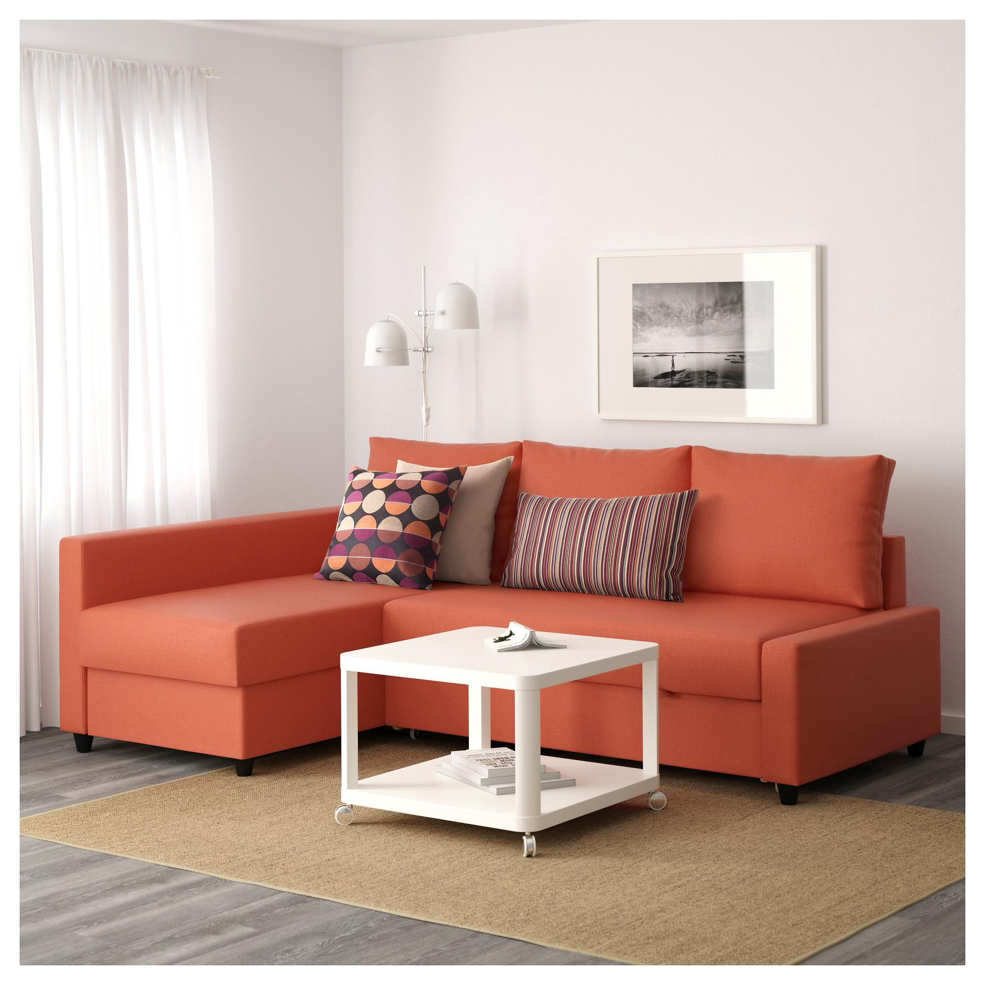 Sofa Orange Orange Ikea Sofa Tylosand Sofa Bed From Ikea Apartment