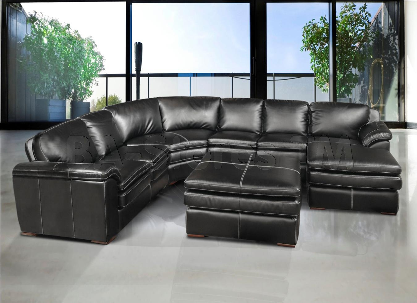 Gray Leather Sofa 21 Ideas Of Gray Leather Sectional Sofas Sofa Ideas