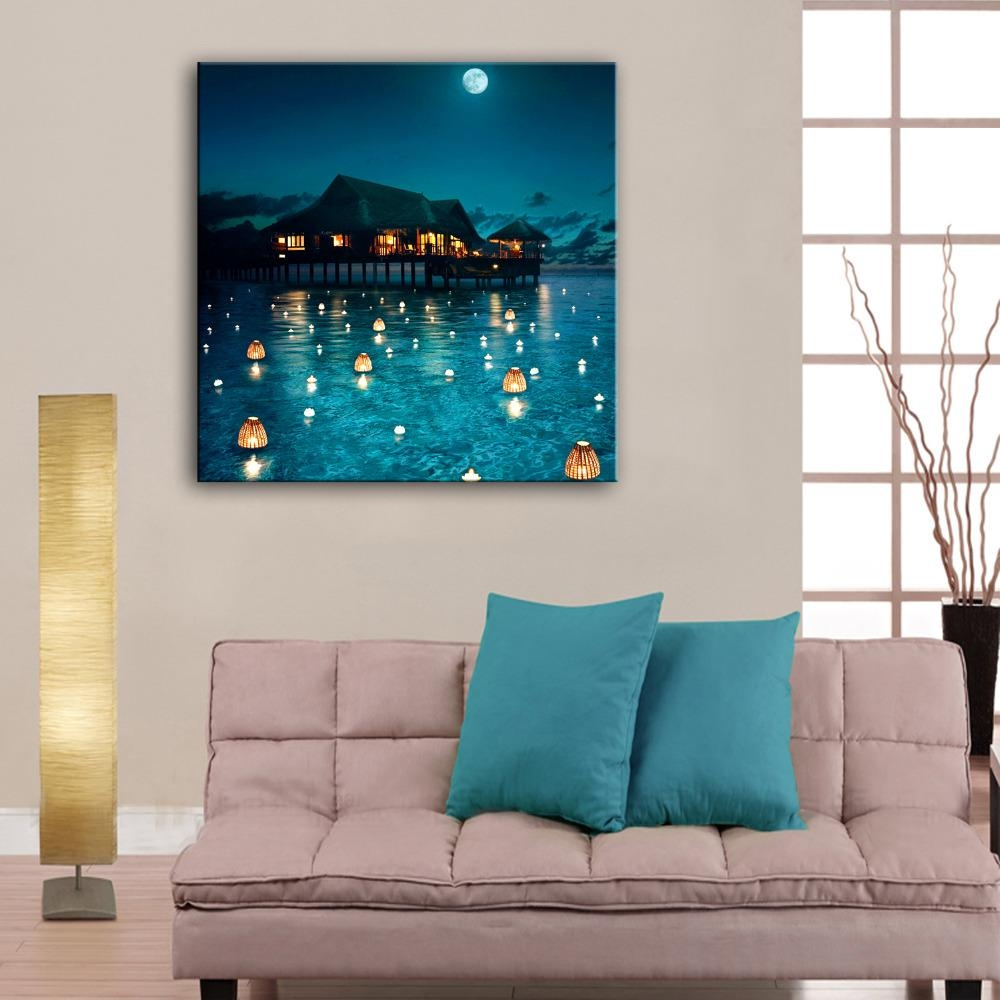 20 Best Collection of Fiber Optic Wall Art