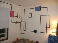 20 Photos Duct Tape Wall Art | Wall Art Ideas