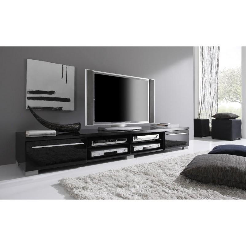 Meuble Bar Fly 20 Best Collection Of Long Black Tv Stands | Tv Cabinet