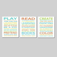 20 Ideas of Playroom Rules Wall Art | Wall Art Ideas