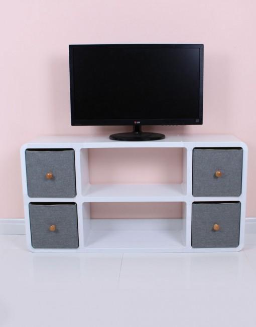 slim modern tv stand